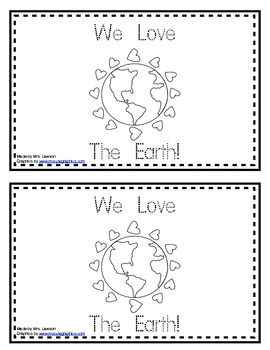 We Love The Earth Book
