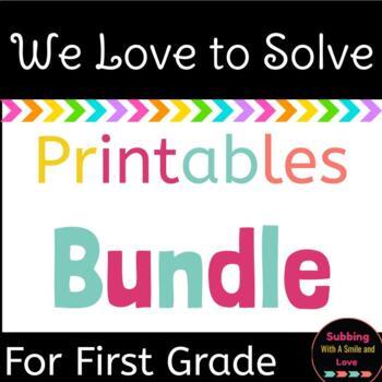 We Love To Solve Growing Bundle