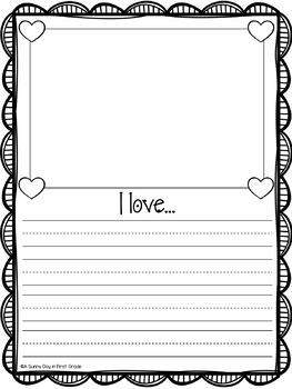 We Love {Valentine's Class Book FREEBIE!}