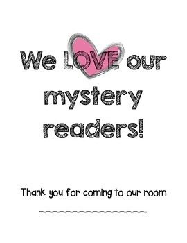 We Love our Mystery Readers