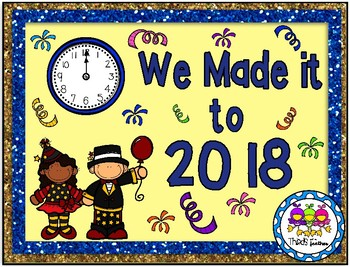 We Made it to New Year's! (Using place value for 2 and 3-digit addition)
