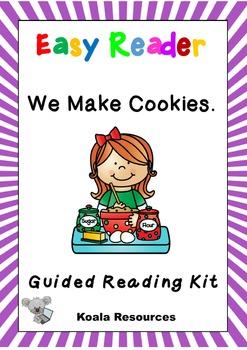 We Make Cookies Easy Reader