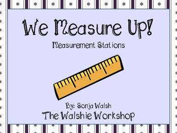 We Measure Up - Measuring Centers for Small Groups & Partners - Grades 2,3,4