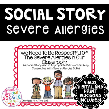 We Need To Be Respectful Of Severe Allergies In Our Classr