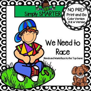 We Need to Race:  NO PREP Needs and Wants Race to the Top Game