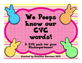 We Peeps Know our CVC words!