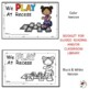 We Play At Recess:  Interactive Emergent Reader for the Si