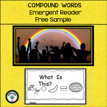 Compound Words:  Interactive Emergent Reader  FREE SAMPLE