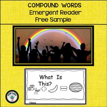 Compound Words:  Interactive Emergent Reader  FREE SAMPLE