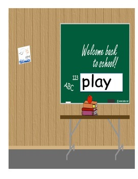 We Play Word Book