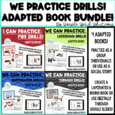 We Practice Drills BUNDLE! 4 Adapted Books for Special Edu