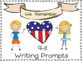 We Remember: 9-11 Writing Prompts