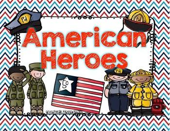 American Heroes for Little Learners(Freebie)