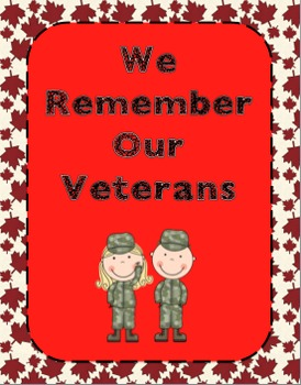 We Remember Our Veterans