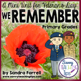 We Remember - a Mini Unit for Veteran's Day