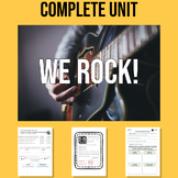 WE ROCK! - TWO complete units about music genres and artists!