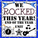 End of the Year Activities - We Rocked This Year Unit!