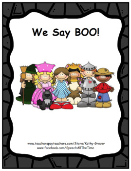 We Say Boo, An Early Intervention Story