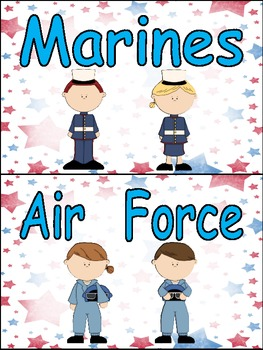 We Say Thank You to Veterans Emergent Reader Kindergarten Veterans Day
