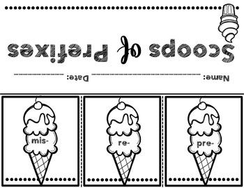 We Scream for Ice Cream: A Prefix Mini-Unit