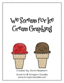 We Scream for Ice Cream Graphing- 2nd Grade Common Core Math