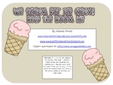 We Scream for Ice Cream Read the Room Kit (Short and Long I)