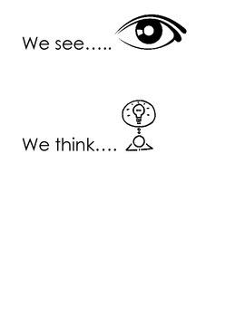 We See, We Think, We Wonder