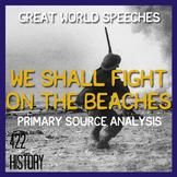 We Shall Fight on the Beaches Churchill Speech Analysis