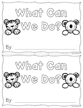We Sight Word Book