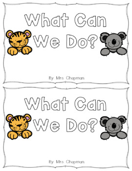 We Sight Word Book for Classroom Library