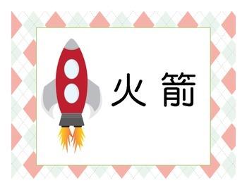 Chinese Transportation Flashcards
