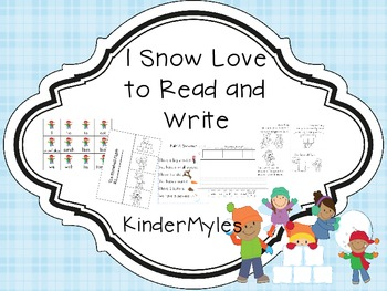 We Snow Love to Read and Write