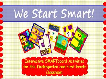 We Start Smart! SMARTboard Activities for Kindergarten and First Grade