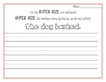 We Super Size Our Sentences