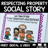 We Take Pride In Our Classroom And Our School (A Social Story)