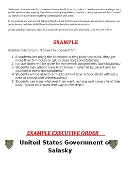 We The People-Understanding the 3 Branches of Government