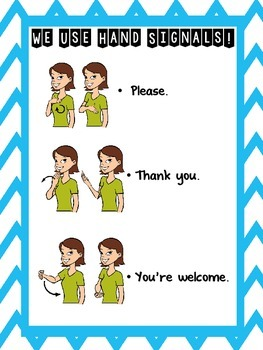 We Use Hand Signals! & Give Me Five