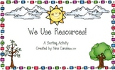 We Use Resources!