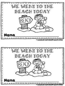 We Went to the Beach Today  (A Sight Word Emergent Reader)