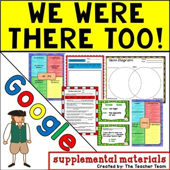 We Were There Too! Journeys 5th Grade Unit 3 Google Digital Resource