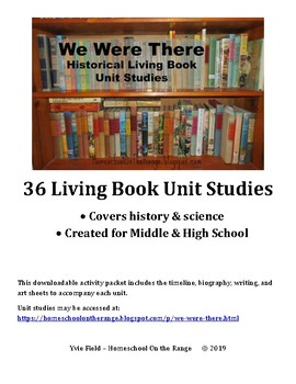We Were There Unit Studies - Activity Pack {FREE}