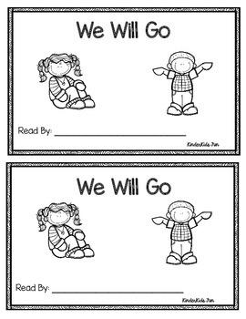We Will Go Emergent Reader