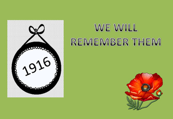 We Will Remember Them-1916