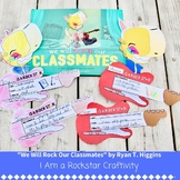 "We Will Rock Our Classmates: ""I am a Rockstar"" Craft Talen"