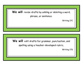 We Will Statements First Grade Writing