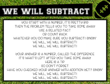 We Will Subtract Lyrics