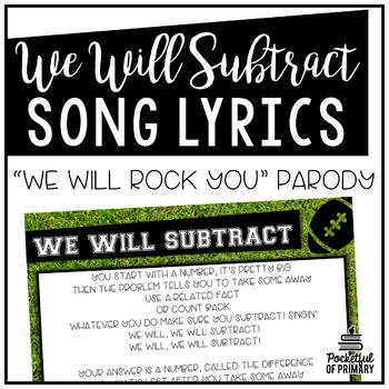We Will Subtract Lyrics