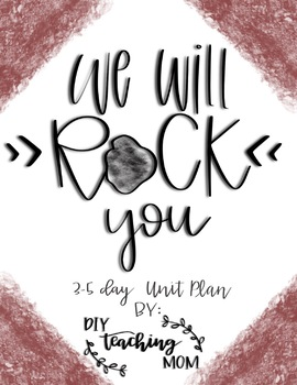 Rocks Unit Plan