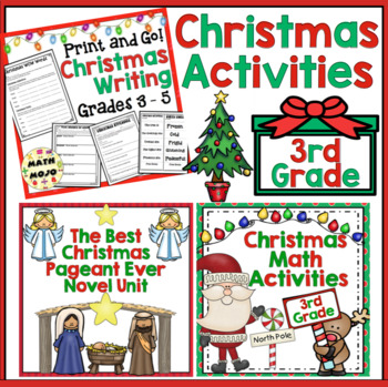 christmas 3rd grade by math mojo teachers pay teachers. Black Bedroom Furniture Sets. Home Design Ideas