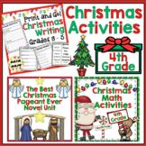 4th Grade Christmas - 4th Grade Math and ELA Christmas Activities